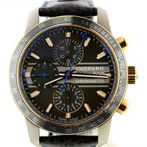 Chopard New Mens Chopard Grand Prix De Monaco 18k Rose Gold...