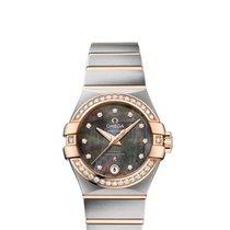 Omega Constellation Brushed Chronometer Tahiti