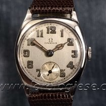 Omega Vintage 1931 Steel Cushion Watch Cal. 26.5 Sob