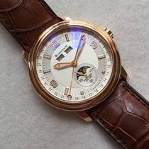 Blancpain Leman Moonphase Rose Gold 2863-3642-53B
