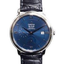 Omega De Ville Stainless Steel Dark Blue Automatic 424.13.40.2...