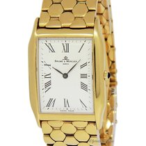 Baume & Mercier Baume  Vintage 18k Yellow Gold Bracelet...
