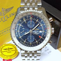 Breitling Navitimer World A24322 - Serviced By Breitling