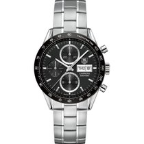 TAG Heuer CALIBRE 16 Day-Date - 41mm - cv201ag.ba0725 - Black...