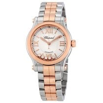 Chopard Ladies 278573-6002  Happy Sport Rose Watch