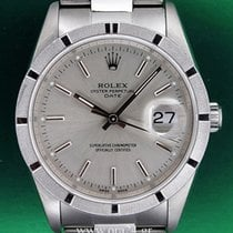 Rolex Oyster Perpetual 15210 Date 35mm Stainless Steel...