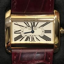 Cartier TANK DIVAN GOLD LADY