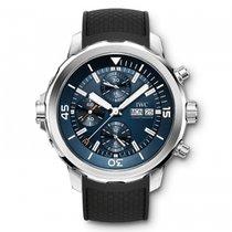 IWC Aquatimer Chronograph Cousteau Blue Dial Automatic...