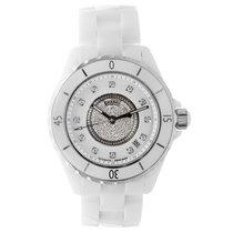Chanel J12 White Ceramic Diamonds Watch H1759