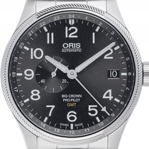 Oris Big Crown ProPilot GMT Small Second Stahl Automatik...