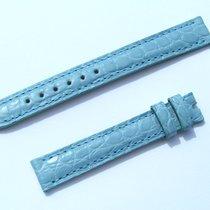 Chopard Croco Band Strap Blue 13 Mm 70/105 New C13-02 -70%