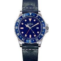 Davosa Diving Vintage Diver GMT Quartz 162.500.45