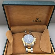 Rolex Daytona Cosmograph Steel and Yellow Gold Black Dial
