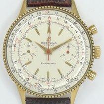 Breitling 808 Chronomat 18ct Gelbgold mit Reiskornlünette