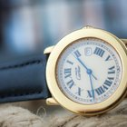 Cartier Ronde 925 silver plated 20 microns gold