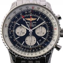Breitling Navitimer GMT Stahl Automatik Chronograph 48mm...