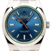 Ρολεξ (Rolex) Milgauss 116400V 116400GV Blue Stainless Steel...