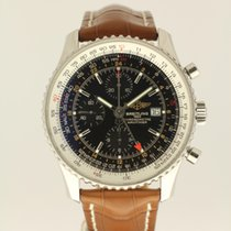 Breitling Navitimer World from 2007 complete with new strap B+P