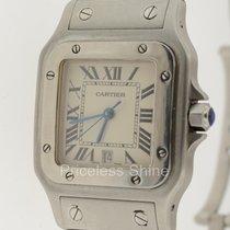 Cartier Santos Galbee Steel Midsize Ref.w20018d6 Quartz Watch...