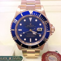 Rolex Submariner Date 16618LB -  Engraved Rehaut Box &...