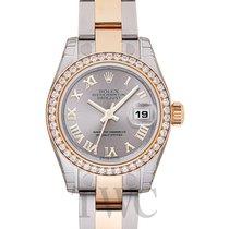 Rolex Lady Datejust Silver Steel/18k gold Dia 26mm - 179383