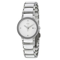 Rado Jubile Centrix Silver Dial Stainless Steel Ladies Watch