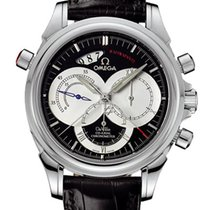 Omega DeVille Co-Axial Rattrapante Stainless Steel Mens Watch