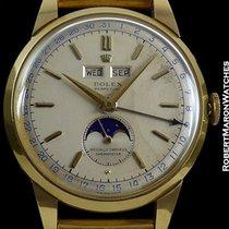Rolex 8171 Triple Date Moonphase Padellone 18k