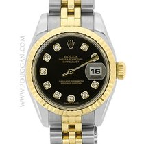 Rolex 18k yellow gold and stainless steel ladies Datejust