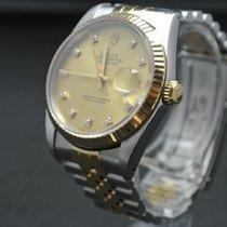 Rolex Datejust Gold Diamant m. Papiere aus 1990 (Europe Watches)