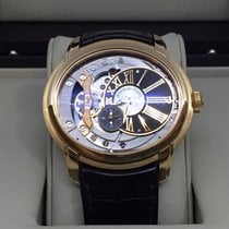 Audemars Piguet Millenary 18k Rose Gold Skeleton Dial