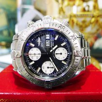 Breitling Superocean A13340 Day/date Blac Dial Chronograph...