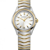 Ebel Wave Lady Steel Gold Case, Silver Dial, Quartz