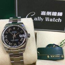 Rolex Cally - 178240 31mm Datejust Black Roman [NEW]