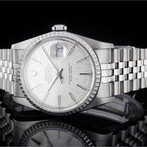 Rolex Datejust (36mm) Ref.: 16220 mit silbernem Zifferblatt,...