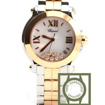 Σοπάρ (Chopard) Happy Sport II Two Tone Pink Gold Floating...