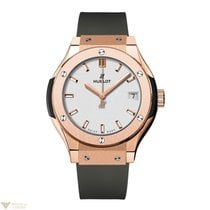 Hublot Classic Fusion 33 MM Quartz 18K King Gold Women's...