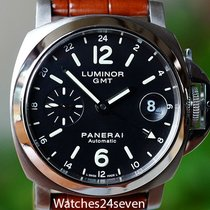 Panerai PAM 244 Luminor Marina GMT Automatic Date Steel 40mm