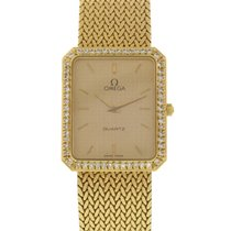 Omega 18K Yellow Gold & Diamonds