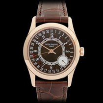 Patek Philippe Calatrava 18k Rose Gold Gents 6000R-001 - W3815