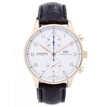 IWC Portuguese Chronograph Rose Gold Men's Watch