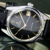 Omega Seamaster Automatic Date Vintage Steel Mens Watch 166.003