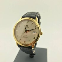 Omega DeVille 460031 GelbGold Automatic