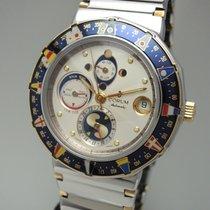 Corum Admirals Cup Tides Marees 277.810.21 V-300 Stahl- Gold...