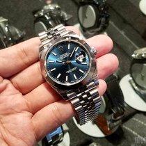 Rolex 126300 Blue Index Dial (Jubilee Bracelet) Datejust 41mm