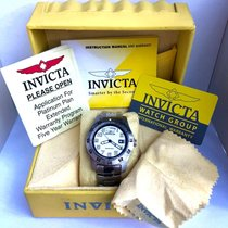 Invicta Day Date Tachymeter Steel Men's Watch Rotating Bezel