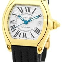 "Cartier ""Roadster"" Strapwatch."