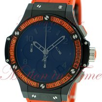 "Hublot Big Bang 41mm Tutti Frutti ""Orange"", Mat Black..."