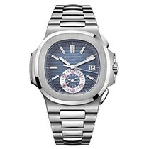 Patek Philippe Nautilus Stainless Steel Chronograph Watch