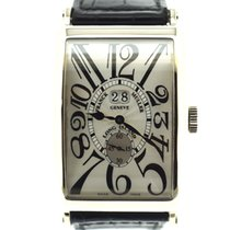Franck Muller Long Island white gold Big Date 35,5x45mm